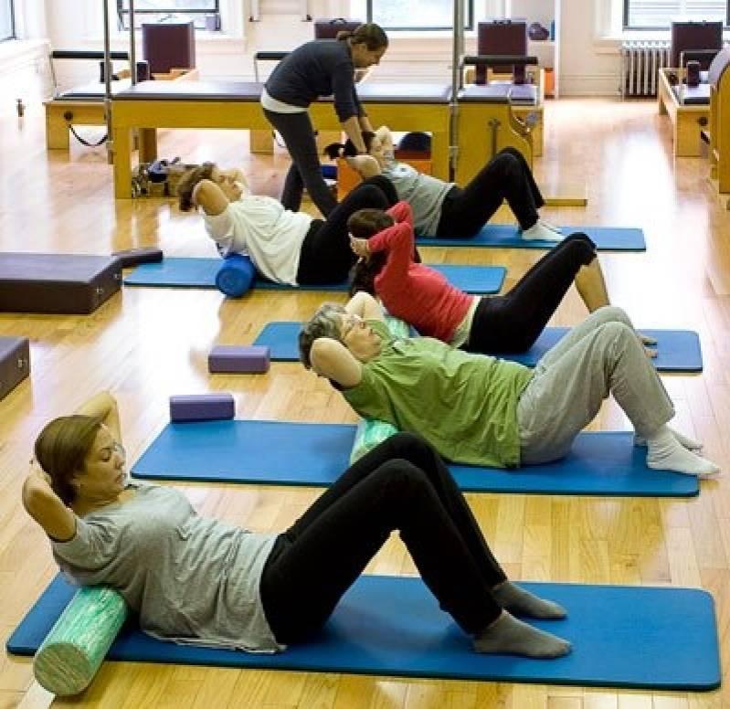 Onde Encontro Academia com Aula de Pilates Paulínia - Aula de Ginástica Localizada