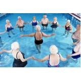 aula de hidroginástica para idoso preço Paulínia