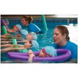 aula de natação para bebê preço Barão Geraldo