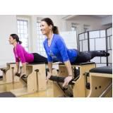 Aula de Pilates