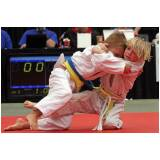 treino de judo infantil