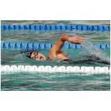 onde encontrar aula de natação Paulínia