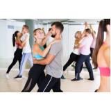 onde encontro academia com aula de dança de salão Paulínia