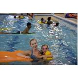 onde encontro aula de natação para bebê Campinas